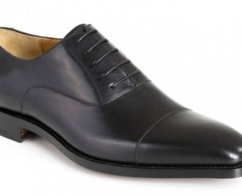 Pediwear Collection Black Cap Toe Oxford - True Budget Oxford at 109.50 GBP.