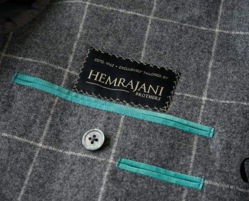 Self cloth facing