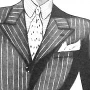 Spring Style for Men in the 1930's & The Short Peaked Lapel