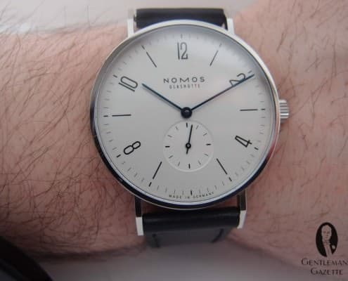 Tangente 38 on my wrist