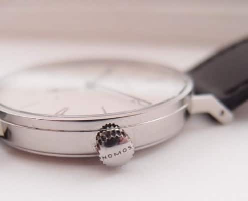 The Tangente case smudges easily and is quickly scuffed