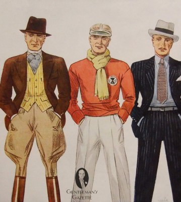 Three 1930's Spring Outfits