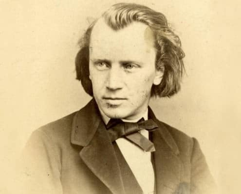 Young Johannes Brahms