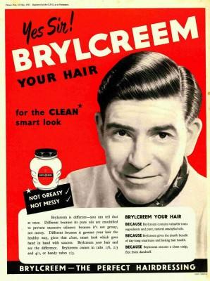 Vintage Brylcreem ad