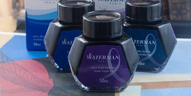 Waterman Ink Bottles