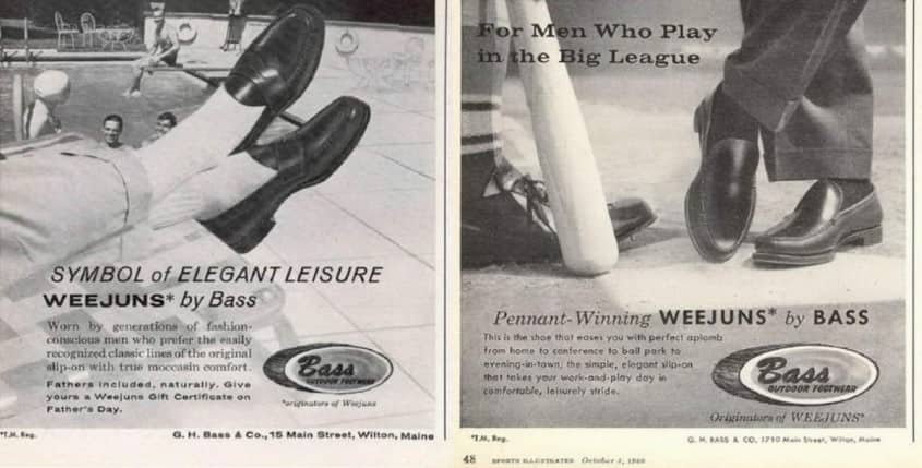 Weejuns in the 1960's - a symbol of elegant leisure