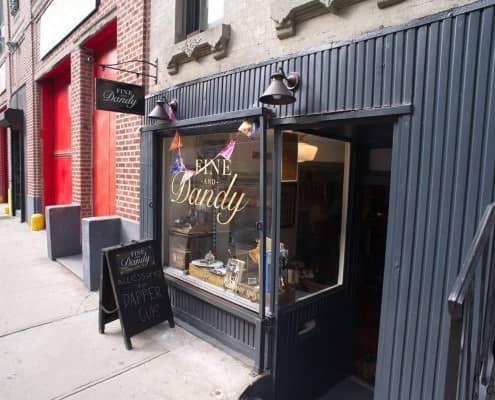 Adieu Fine and Dandy Shop