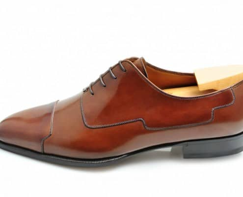 Art Deco inspired Blucher by Carreducker