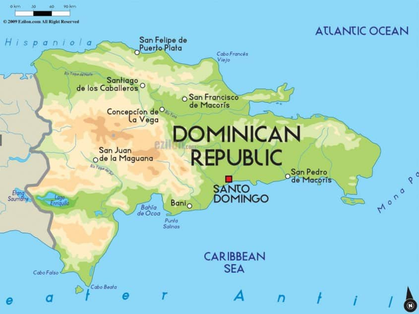 Dominican Map