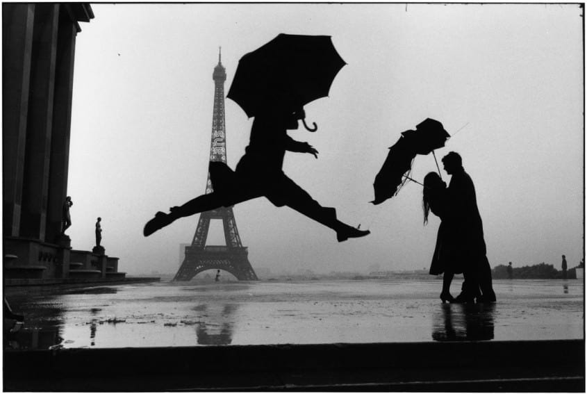 Tour Eiffel by Elliot Erwitt