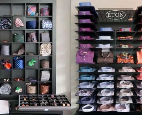 Eton Shirt Displays & Accessories