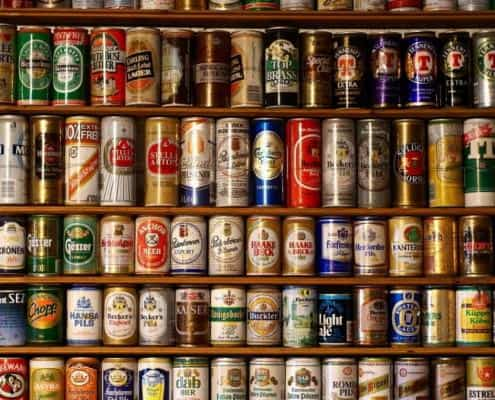 European Beer Cans
