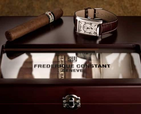 Frederique Constant Humidor and Watch