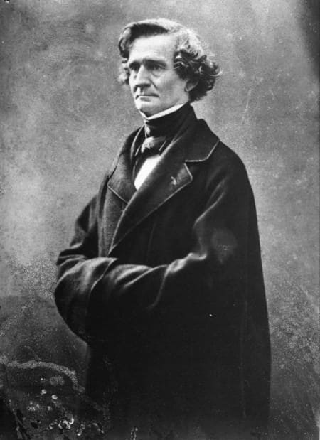 Hector Berlioz photographed by Nadar in 1857