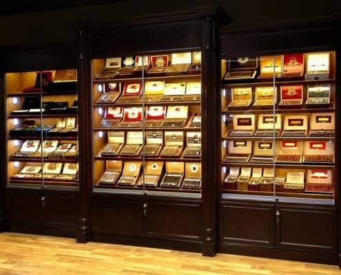Humidor Display Case