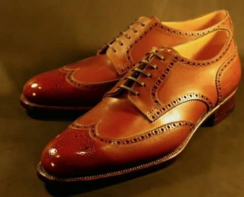 Japanese Bespoke Derby Brogues