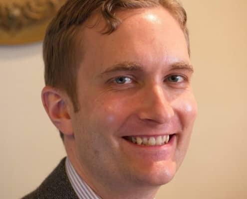 Matt Foxx, shopkeeper at Fine & Dandy