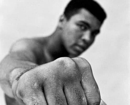 Muhamed Ali in 1966 by Thomas Hoepker