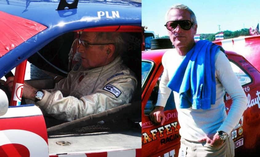 Paul Newman with Rolex Daytona