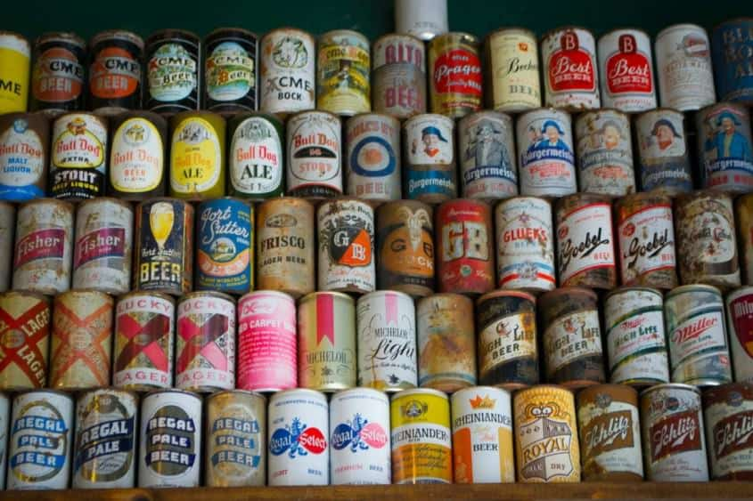Rare Beer Cans