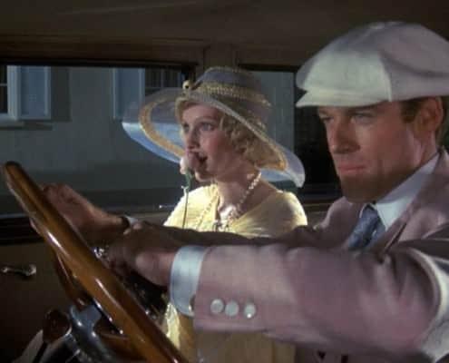 Robert Redford in White Baker Boy Cap