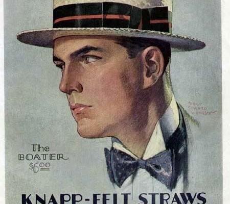 Vintage Boater Ad
