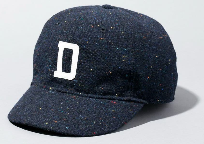 Vintage Inspired Donegal Tweed Baseball cap by Japanese brand Deluxe