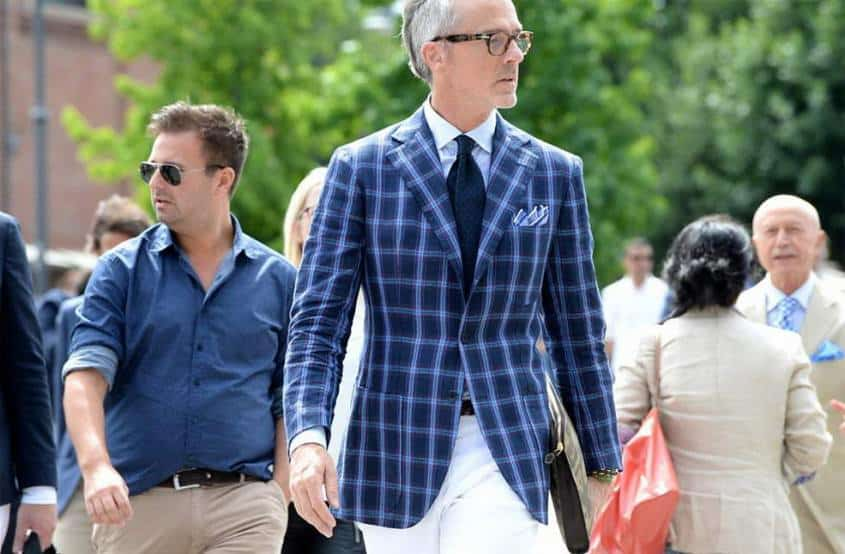 Windowpand sportcoat