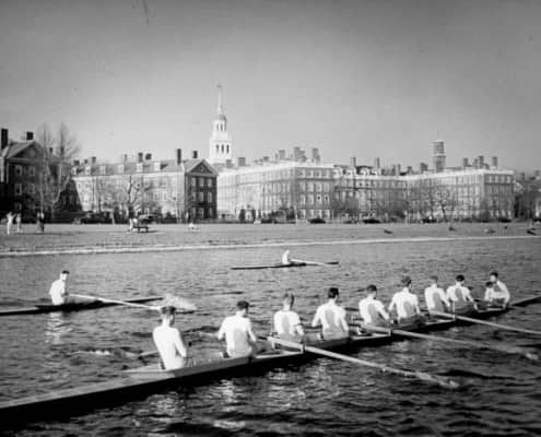 Harvard Rowers in 1941