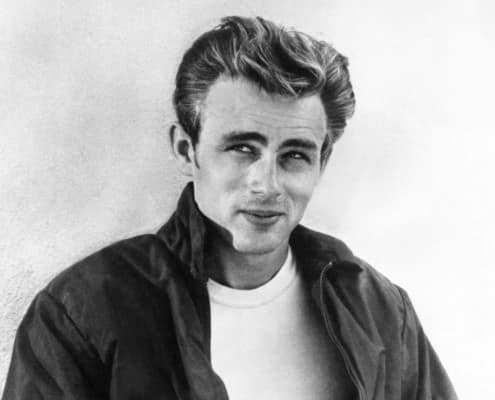James Dean's hairstyle