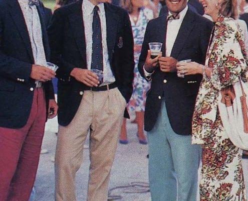 Preppy Style in Newport 1986