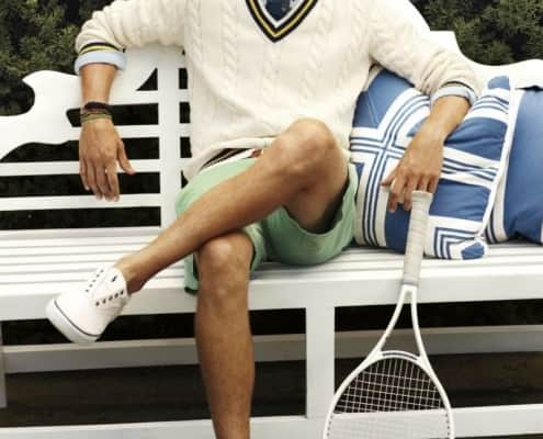 Tennis Sweater Preppy Style