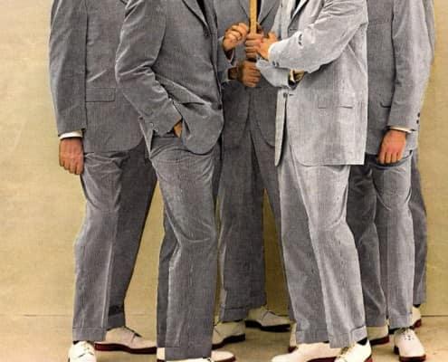 White Buckskin shoes
