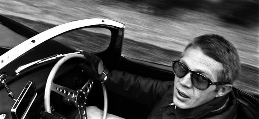 Steve McQueen wearing the Persol Model 649