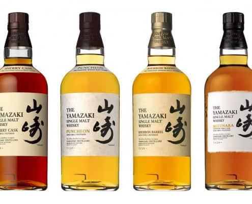 Yamazaki Line of Whisky