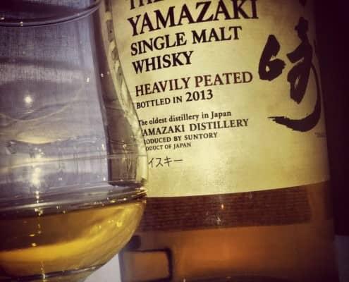 Yamazaki Single Malt Whisky Heavily Peated