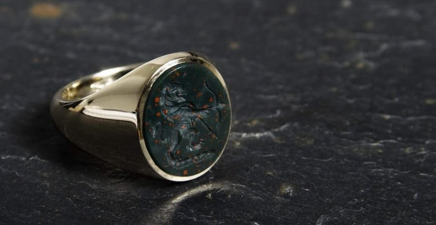 Beautiful Custom Signet Ring