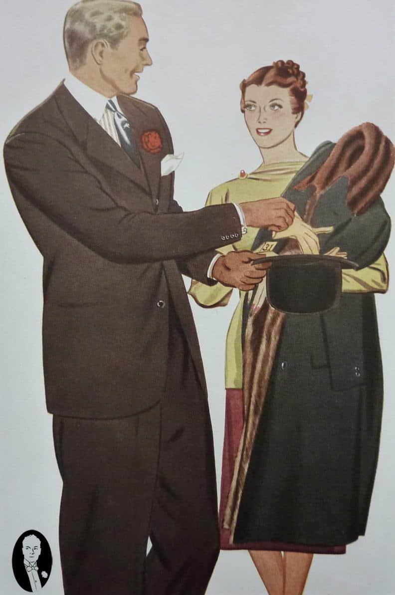 the charcoal brown suit � gentlemans gazette
