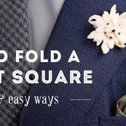 HowTo Fold A Pocket Square
