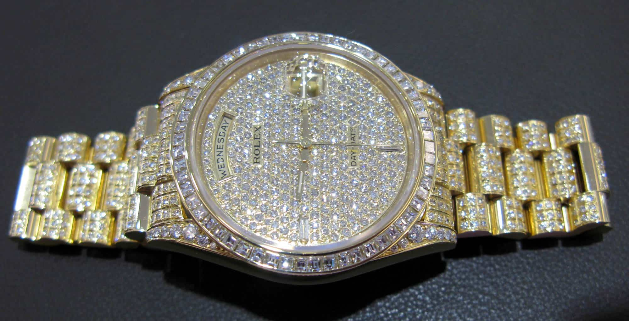 Fake Diamond Rolex Watches