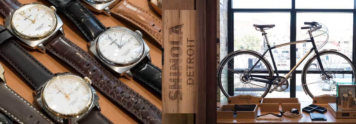 Shinola Watches & Factory Tour Detroit