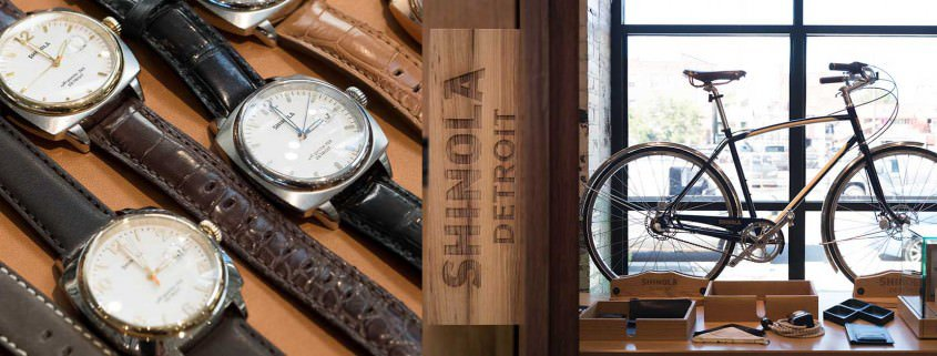 Shinola Watches & Factory Tour Detroit