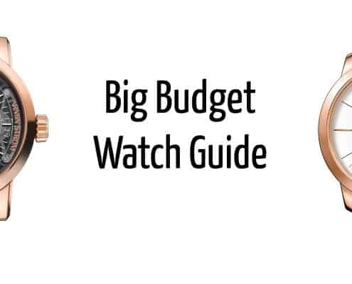 Big Budget Watch Guide