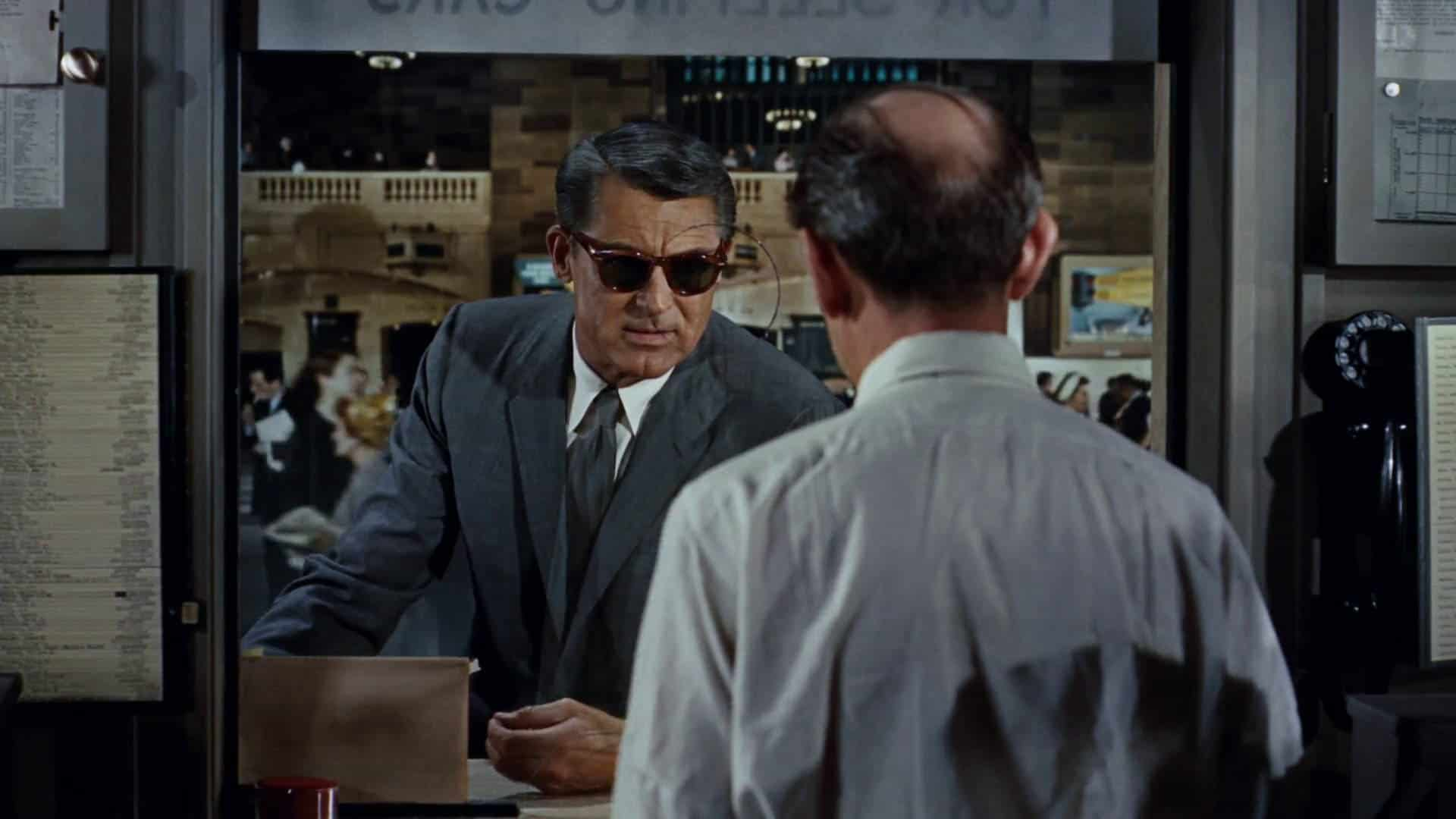 Cary Grant sunglasses in North by Northwest