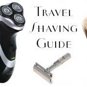 Travel Shaving Guide