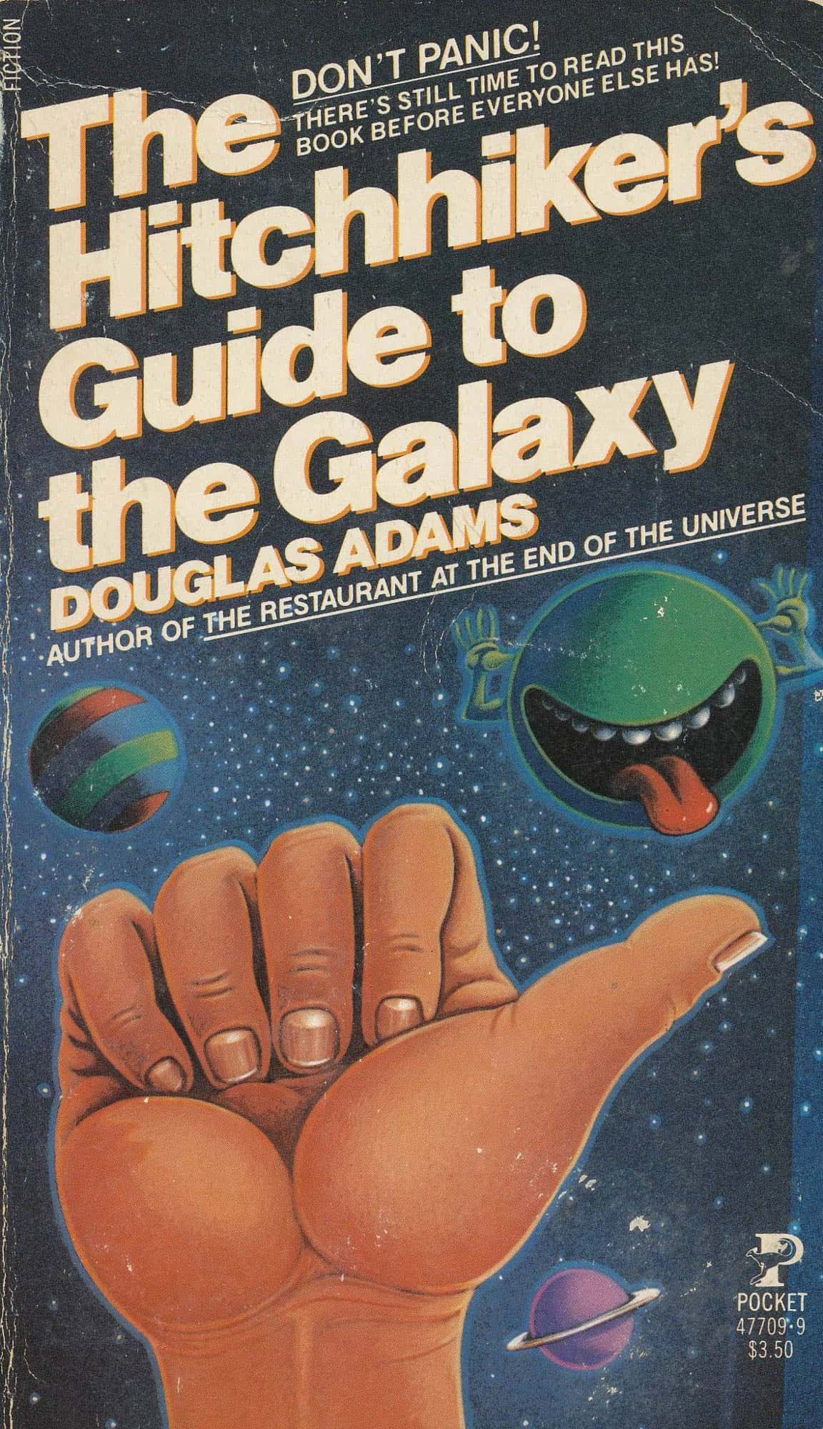 the hitchhikers guide to the galaxy Douglas adams' sci-fi comedy following the misadventures of hapless human arthur dent.