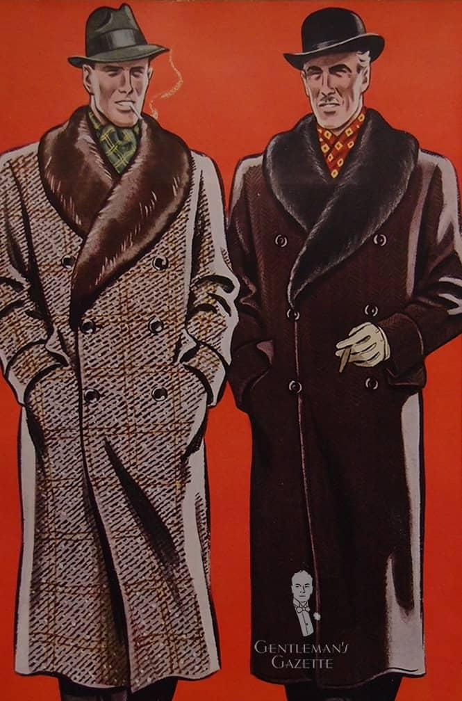 Men's Overcoats with Fur Collars & 1930s Fashion   Gentleman's Gazette