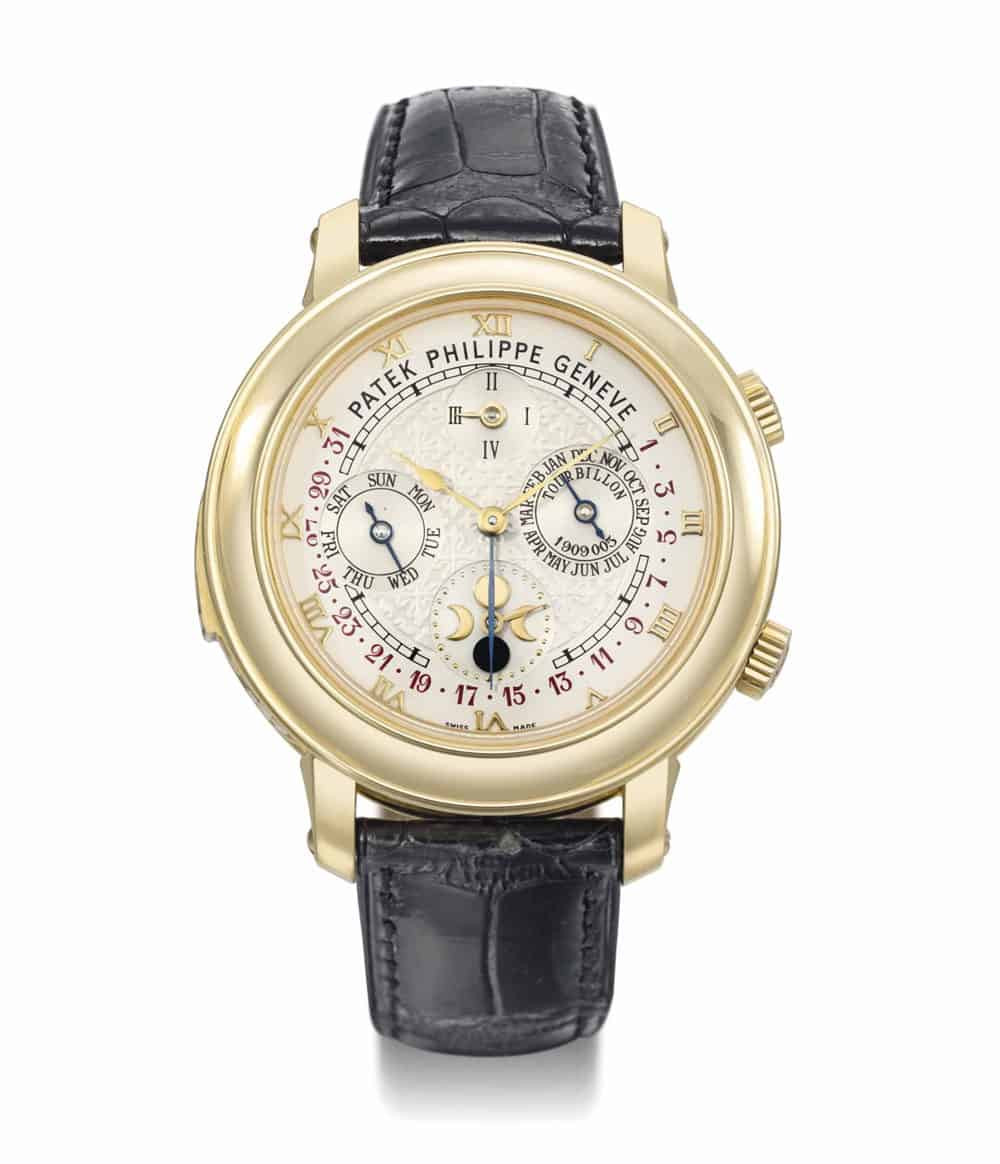 The world 39 s most expensive and exclusive watches gentleman 39 s gazette for Patek philippe tourbillon