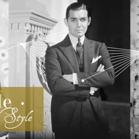 Clark Gable Gentleman Of Style Gentlemans Gazette