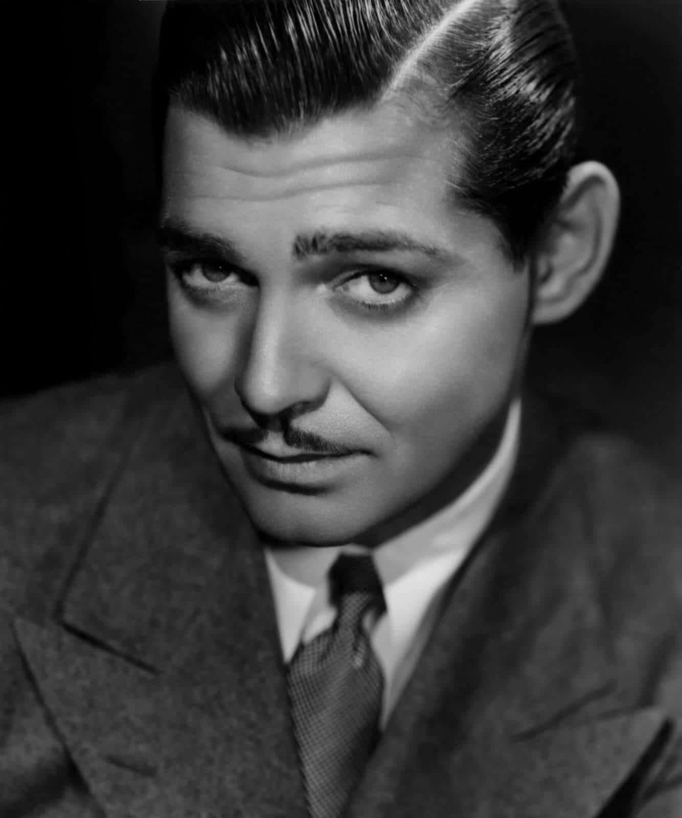 Incredible Clark Gable Gentleman Of Style Gentleman39S Gazette Short Hairstyles Gunalazisus